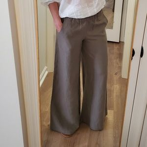 Anthropologie Edme + Esyllte High Waist Wide Pants